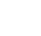TUENT_LOGO Digital White